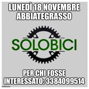 Test di Posizionamento lunedì 18 novembre ad Abbiategrasso presso SOLOBICI